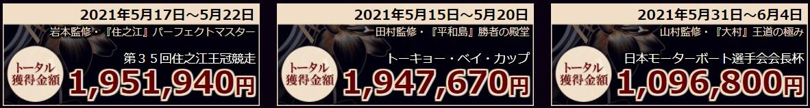 JAPAN BOATRACE SALON(ジャパンボートレースサロン)の的中実績